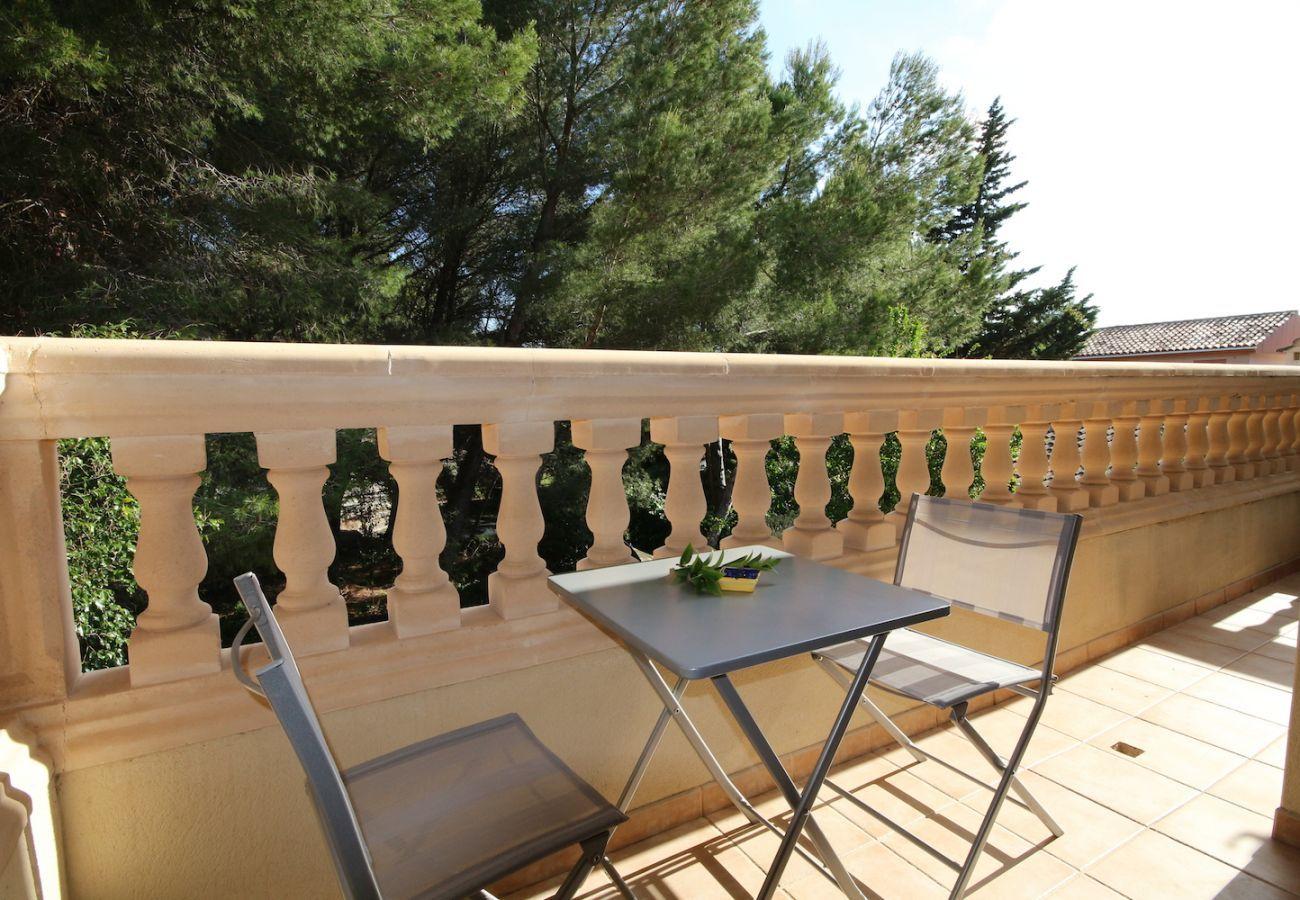 4 DBR, 2 bathrooms, garden, barbecue, wifi internet, only 250m to the beach of Platjas de Muro / Port d'Alcudia