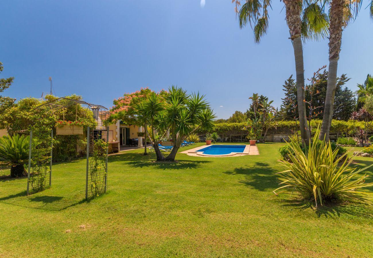 Cottage in Platja de Muro - Can Branca Natural Beach, Villa 5StarsHome Mallorc
