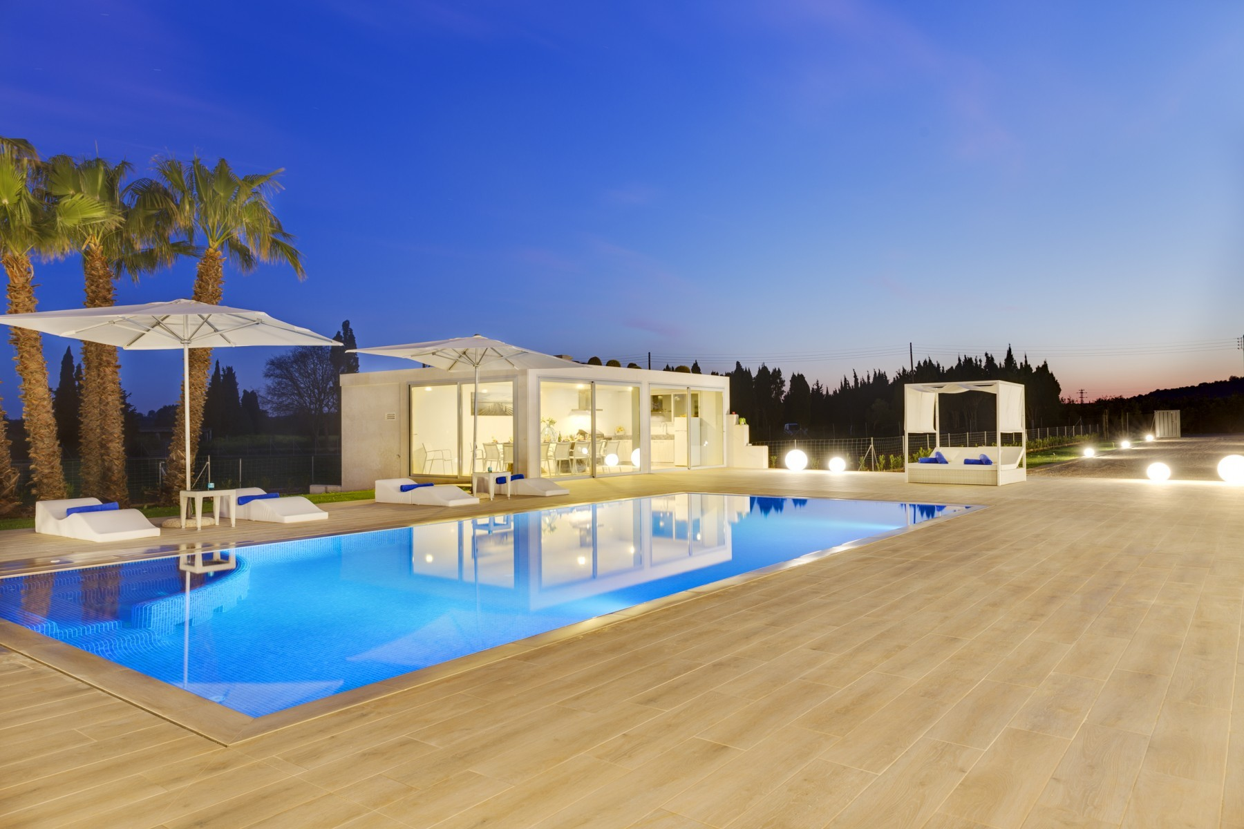Villa For 14 Pool Football Ac Heating Near Beaches Mallorca